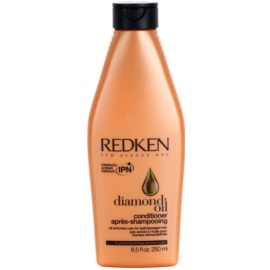 Redken Diamond Oil condicionador para cabelo danificado  250 ml