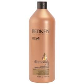 Redken Diamond Oil condicionador para cabelo danificado  1000 ml