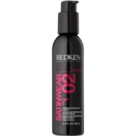 Redken Heat Styling Thermo Actif leite protetor  para finalização térmica de cabelo  160 ml