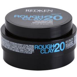 Redken Texturize Rough Clay 20 pasta matificante para fijación flexible  50 ml