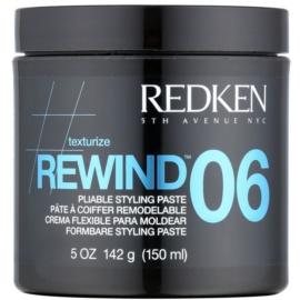 Redken Texturize Rewind 06 modellierende Stylingpaste  für das Haar  150 ml