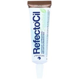 RefectoCil Sensitive vopsea pentru sprancene si gene culoare Medium Brown 15 ml