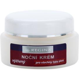 Regina Traditional creme de noite nutritivo para todos os tipos de pele  45 g