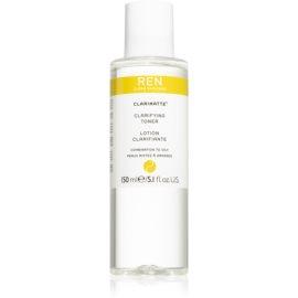 REN Clarimatte™ tónico de limpeza para pele mista a oleosa  150 ml