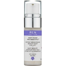 REN Keep Young And Beautiful™ gel iluminador paar contorno de ojos con efecto lifting  15 ml