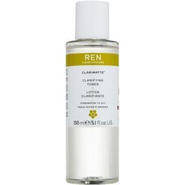 REN Clarimatte™ oczyszczający tonik do skóry tłustej i mieszanej  150 ml