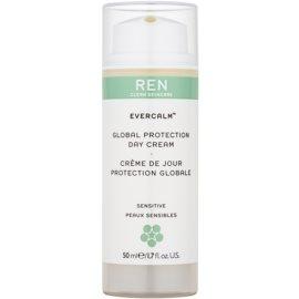 REN Evercalm creme de dia protetor para pele sensível  50 ml