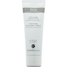 REN Flash intenzivní maska pro okamžité zlepšení vzhledu pleti  75 ml