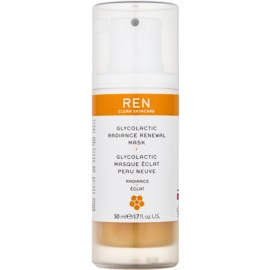 REN Radiance hámlasztó maszk az élénk bőrért  50 ml