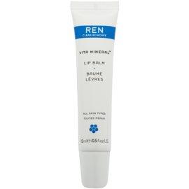 REN Vita Mineral bálsamo para labios secos y agrietados   15 ml