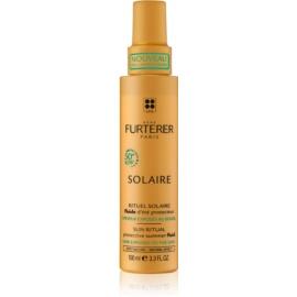 Rene Furterer Solaire zaščitni fluid za lase izpostavljene soncu, morski in klorirani vodi  100 ml