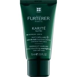 Rene Furterer Karité Nutri intensywna kuracja na noc do bardzo suchych włosów  75 ml
