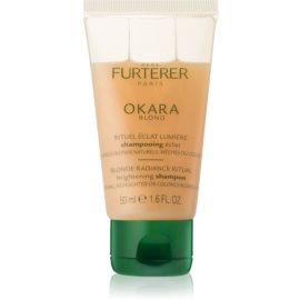 Rene Furterer Okara Blond shampoing brillance pour cheveux blonds et méchés  50 ml