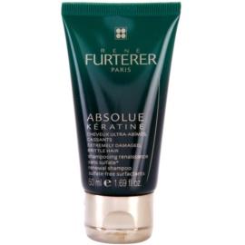 Rene Furterer Absolue Kératine erneuerndes Shampoo Für extrem strapaziertes Haar  50 ml