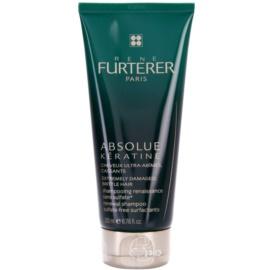 Rene Furterer Absolue Kératine erneuerndes Shampoo Für extrem strapaziertes Haar  200 ml