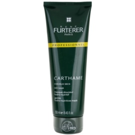 Rene Furterer Carthame máscara hidratante e nutritiva para cabelo seco  250 ml