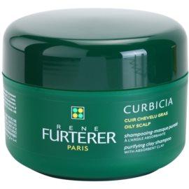 Rene Furterer Curbicia champô para o couro cabeludo oleoso  200 ml