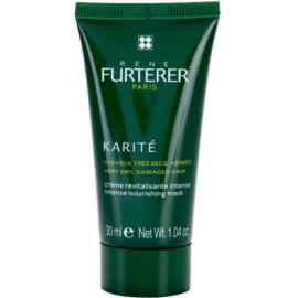 Rene Furterer Karité maseczka odżywcza do bardzo suchych i zniszczonych włosów  30 ml