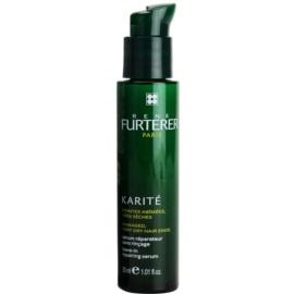 Rene Furterer Karité sérum sem enxaguar  para cabelo seco a danificado  30 ml