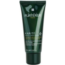 Rene Furterer Karité intenzivní noční péče pro suché a poškozené vlasy  100 ml
