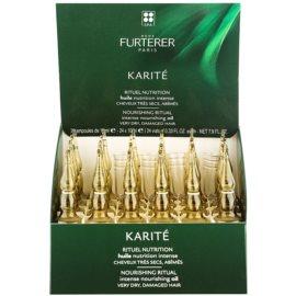 Rene Furterer Karité ulei pentru par uscat si deteriorat  24 x 10 ml