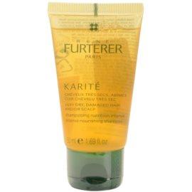 Rene Furterer Karité Shampoo mit ernährender Wirkung für trockenes und beschädigtes Haar  50 ml