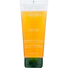 Rene Furterer Okara Active Light champô para cabelo loiro e grisalho  200 ml