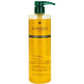 Rene Furterer Okara Active Light champô para cabelo loiro e grisalho  600 ml