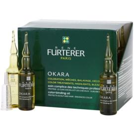 Rene Furterer Okara захисний догляд при фарбуванні волосся для підвищення інтенсивності кольору волосся   24 x 10 мл