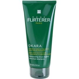 Rene Furterer Okara Protect Color nežen srebrn šampon nevtralizira rumene odtenke  200 ml