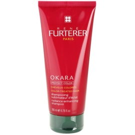Rene Furterer Okara Protect Color Shampoo  voor Gekleurd Haar   200 ml