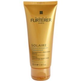Rene Furterer Solaire Intensief Voedende Masker  voor beschadigd Haar door Chloor, Zon en Zoutwater  100 ml