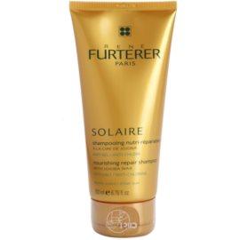Rene Furterer Solaire szampon odżywczy do włosów osłabionych działaniem chloru, słońca i słonej wody  200 ml