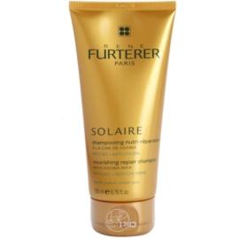 Rene Furterer Solaire Nourishing Shampoo for Hair Damaged by Chlorine, Sun & Salt  200 ml