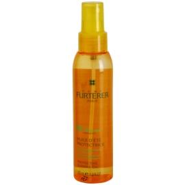 Rene Furterer Sun óleo protetor para cabelo danificado pelas ações do sol, cloro e sal  125 ml