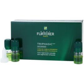 Rene Furterer Triphasic vht+ tratamento regenerador  anti-queda  8x5,5 ml
