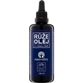 Renovality Original Series aceite de masaje corporal de rosas   100 ml