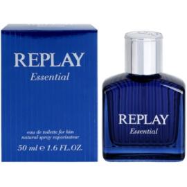 Replay Essential eau de toilette férfiaknak 50 ml