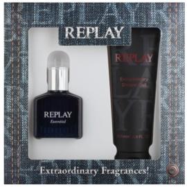 Replay Essential darčeková sada I. toaletná voda 30 ml + sprchový gel 100 ml