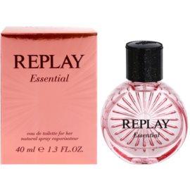 Replay Essential Eau de Toilette para mulheres 40 ml