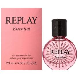 Replay Essential Eau de Toilette para mulheres 20 ml