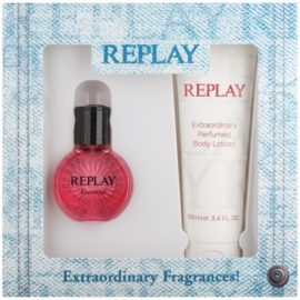 Replay Essential Geschenkset I. Eau de Toilette 20 ml + Körperlotion 100 ml