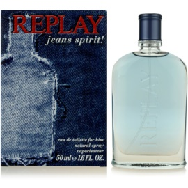 Replay Jeans Spirit! For Him Eau de Toilette für Herren 50 ml