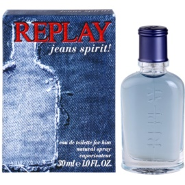 Replay Jeans Spirit! For Him Eau de Toilette für Herren 30 ml