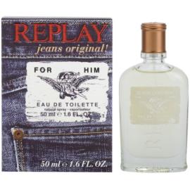 Replay Jeans Original! For Him Eau de Toilette für Herren 50 ml