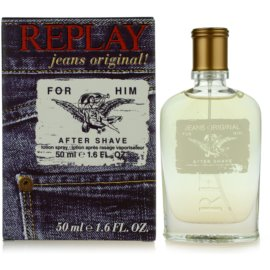 Replay Jeans Original! For Him voda po holení pro muže 50 ml