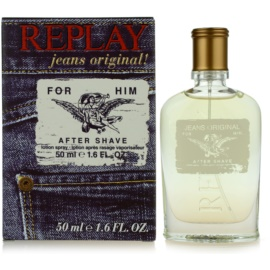 Replay Jeans Original! For Him After Shave Herren 50 ml