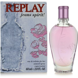 Replay Jeans Spirit! For Her тоалетна вода за жени 60 мл.