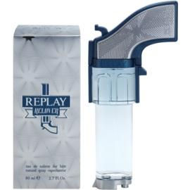 Replay Relover Eau de Toilette para homens 80 ml