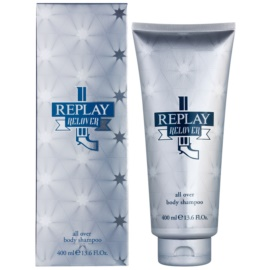 Replay Relover sprchový gel pro muže 400 ml
